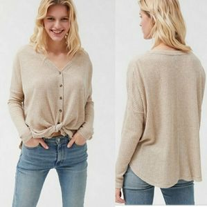 Urban Outfitters Out from Under Jojo Thermal Top
